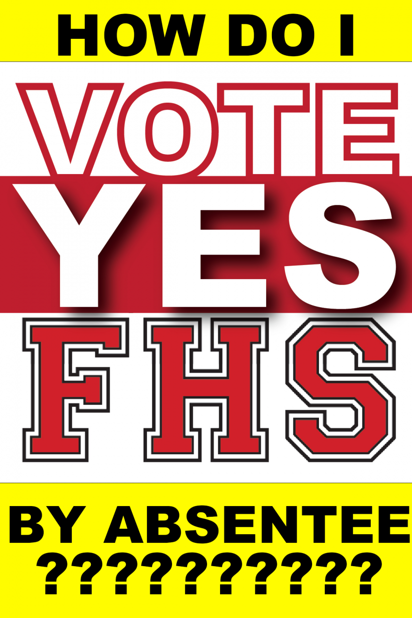 How do I vote yes by absentee?